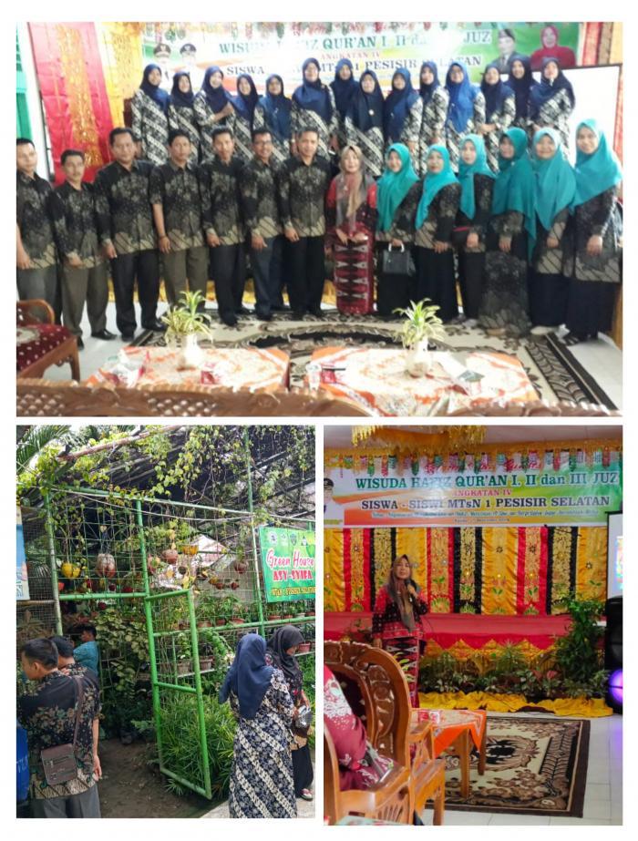 MTsN 5 Bungo Jalin Silaturahmi ke MTsN 1 Pesisir Selatan