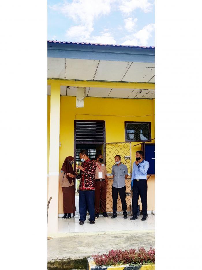 Kunjungan dari MAN 3 Bungo untuk Mensosialisasikan tentang PPDB di MTs N 5 Bungo